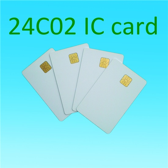 ATMEL 24c02 ISO 7816 Plastic Contact IC Card Contact Smart 2k Card